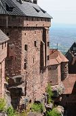 France, Haut Koenigsbourg Castle In Alsace