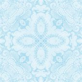 Vintage Light Blue Tapestry