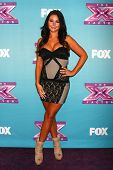 LOS ANGELES - DEC 19:  Jenni 'Jwoww' Farley at the 'X Factor' Season Finale performances  show tapin