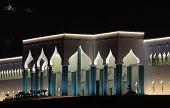Emir's Palace At Night, Doha, Qatar