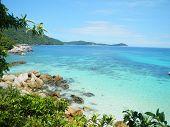 Blue ocean holiday