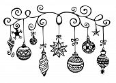 Christmas Ornaments Sketch