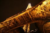Eiffel Tower Fireworks Show