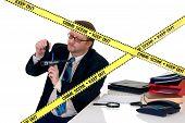 Investigador da cena do Crime CSI