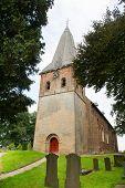 Little church in Dutch Hoog-Keppel