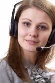 Friendly Call Center Operator