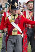 Redcoat soldier