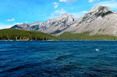 Lake Minnewanka And Mount Astley