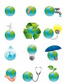 Green Earth Icons