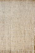 Old-fashioned rustic homespun cloth as background