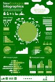 New ecology collection - charts, symbols, design elements, icons - ecological infographics  & ENERGY