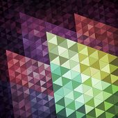 Geometric abstract background, vector eps10 illustration