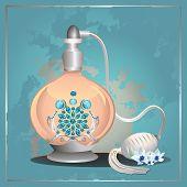 Perfume pump bottle