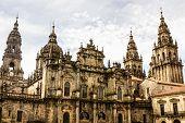Cathedral Of Santiago De Compostela The Romanesque Facade