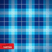 image of tartan plaid  - Vector illustration of Seamless tartan pattern  - JPG