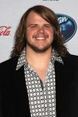 LOS ANGELES - FEB 20:  Caleb Johnson at the American Idol 13 Finalists Party at Fig & Olive on Febru