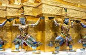 image of garuda  - Temple of the Emerald Buddha Garuda thai - JPG