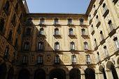 inner facade, Montserrat, Spain