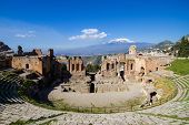 Greek Theater Of Taormina