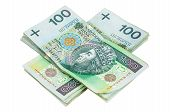 Polish Banknotes Of 100 Pln