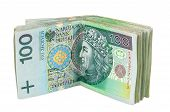 Polish Banknotes Of 100 Pln