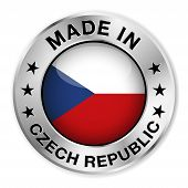 Made In Czech Republic Badge