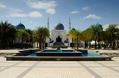 View from Main Courtyard of Al Bukhary Mosque