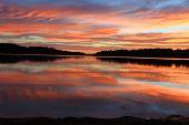 Sunrise Reflectins At Narrabeen