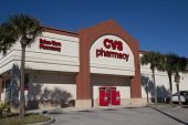 JACKSONVILLE, FL-FEBRUARY 16, 2014: A CVS Pharmacy in Jacksonville. CVS Pharmacy is the largest phar
