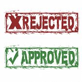 Rejected Approved
