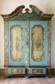 Antique Painted Cupboard