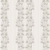 Neutral Floral Background. Swirl And Curve