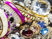 stock photo of bangles  - Many fashionable women - JPG