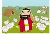 Abraham And Flock.