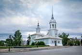 Alexander Nevsky Church in Vologda City