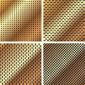 A Set Of Metal Grille 3