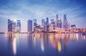 stock photo of hsbc  - Singapore - JPG
