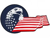 eagle patriotic theme