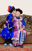 picture of mongolian  - buryat  - JPG