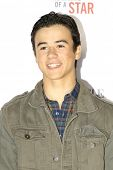 LOS ANGELES - FEB 22: Keean Johnson at the Abercrombie & Fitch 'The Making of a Star' Spring Campaig