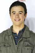 LOS ANGELES - FEB 22: Keean Johnson at the Abercrombie & Fitch 'The Making of a Star' Spring Campaign Party on February 22, 2014 in Los Angeles, CA