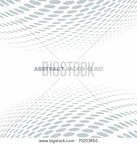 Abstract Halftone Gray Technology Background poster