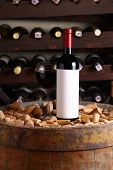 Red Wine In Wine Cellar
