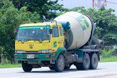 Cement truck of QMIX