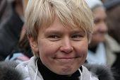 Russian environmentalist Yevgeniya Chirikova