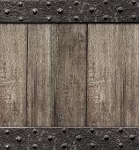 medieval wooden gate door background