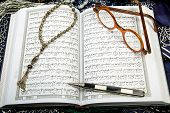 pic of quran  - The Quran is the bible for Muslims - JPG