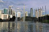 Cityscape of Kuala Lumpur, Malaysia
