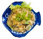Nyonya Ju Hoo Char - shredded cuttlefish & vegetables