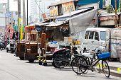 Carrier truck at Tsukiji Market
